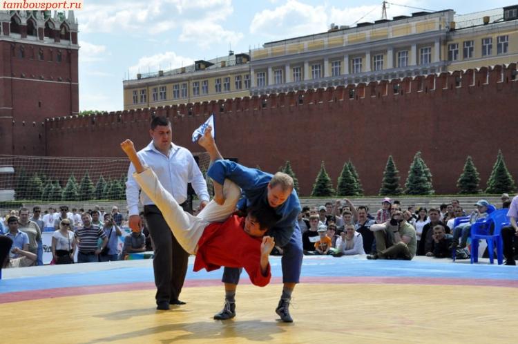 """Русская борьба """"выведение"""""""